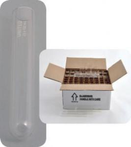 Test Tubes without Rim, Borosilicate Glass