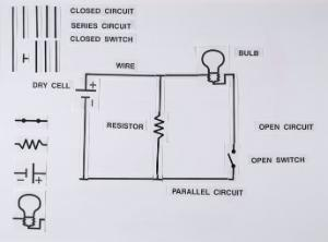 Blackboard Circuit Magnetic Model Set