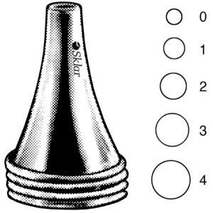 Boucheron Ear Specula, OR Grade, Sklar