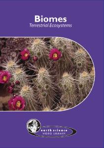 Biomes: Terrestrial Ecosystems DVD