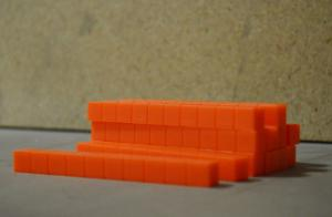Rod Base Ten Orange, Standard