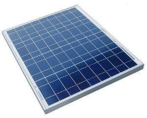 Framed Solar Panel, 40 Watt