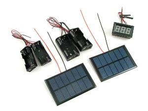 Solar Battery Charger (Pre-Wired) EA
