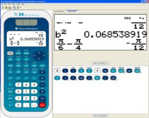 TI-30X/TI-34 Multiview Emulator (Downloadable)