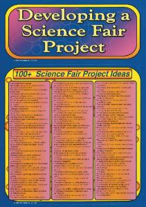 Developing a Science Fair Project Bulletin Board Set