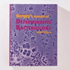 Berge's Manual Of Determinative Bacteriology: Ninth Edition