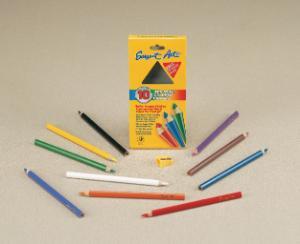 Triangle Colored Pencils