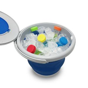 Collapsable ice bucket