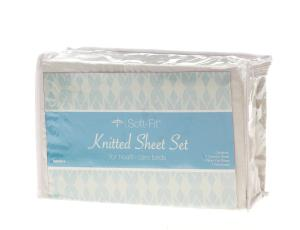 Medline® Soft-Fit Knitted Contour Sheets