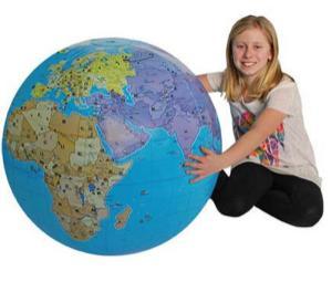 Inflatable Globe, XXL
