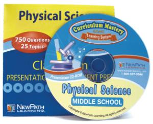 Science Classroom Presentation/Assessment Prep CD-Rom: Physical Science