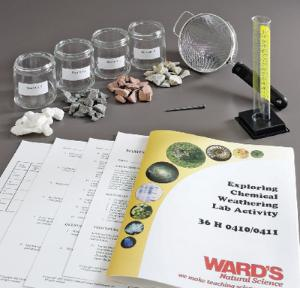 Ward's® Exploring Chemical Weathering Lab Activity