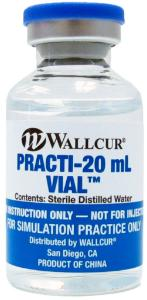 Wallcur® PRACTI-Vials
