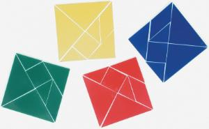 Learning Advantage Tangrams, Set of 28
