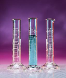 PYREX® Double Metric Scale Graduated Cylinders, To Contain, Corning®