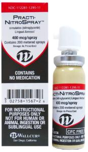 Wallcur® PRACTI-Nitroglycerin Spray