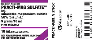 Wallcur® PRACTI- Labels