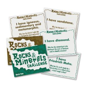 Rocks and Minerals Challenge Game