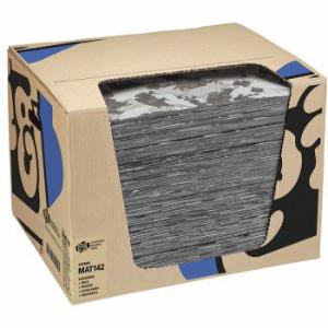 PIG® Gray Ham-O® Absorbent Mat Pad in Dispenser Box, New Pig
