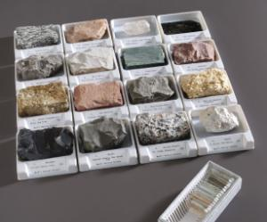 Ward's®  Introductory Mineral & Rock Collection With Matching Thin Sections