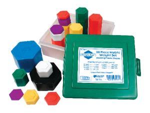 Hexagram Weight Set
