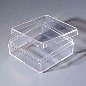 Telescoping Clear Plastic Box