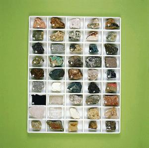 Strategic Industrial and Ore Mineral Resources Collection