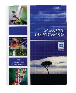 General Science Student Lab Notebook