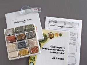 Geo-logic Sedimentary Rock Set
