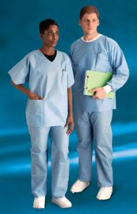 Convertors® Disposable Scrub Shirts and Pants, Cardinal Health®
