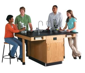 Four-Student Lab Table