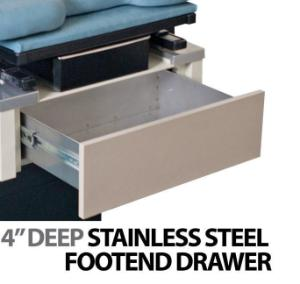Foot end drawer