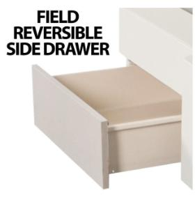 Side drawer