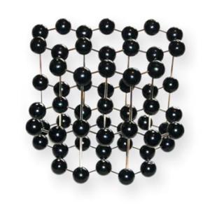 Klinger Graphite ll (Hexagonal) Crystal Model