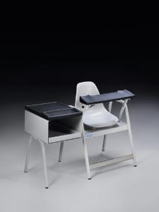Standard Blood Drawing Chair with Storage Cabinet