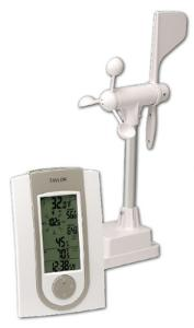 Digital Wireless Anemometer with Temperature & Humidity