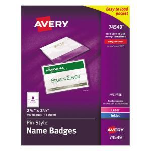 Holder badge pin