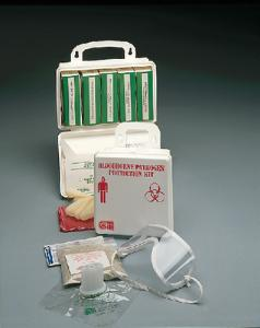 Bloodborne Pathogen Protection Kit, Certified Safety