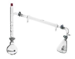 Fraction Distillation Apparatus