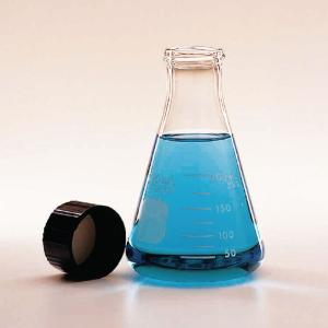 PYREX® Erlenmeyer Flask with Screw Cap