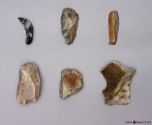 Model Neanderthal Tools, Set of 6