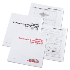 Quake! Epicenters and Magnitude Lab Activity