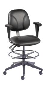 VWR® Contour™ Deluxe Lab Chairs with Armrests