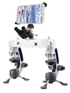 Comparison Microscope with Digital Tablet