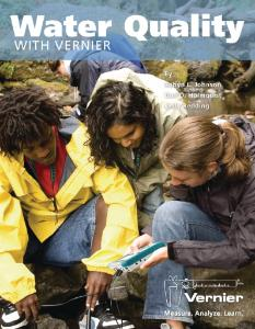 Water Quality with Vernier Lab Book