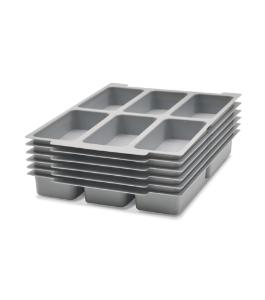 Six Compartment Tray Insert
