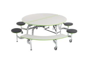 Mobile Stool and Bench Tables, AmTab