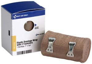 """SmartCompliance Refill 3"""" x 5 yd Elastic Bandage, 1 Per Box, First Aid Only"""