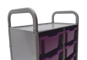 Gratnells Callero Plus Double Tray Cart Handles