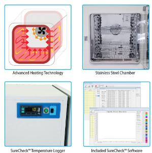 Features of SureTemp Incubators
